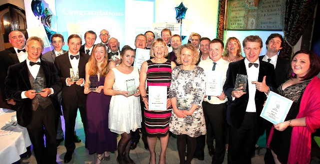 Cirencester Chamber of Commerce Business Award winners 2012